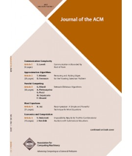 Journal of the ACM