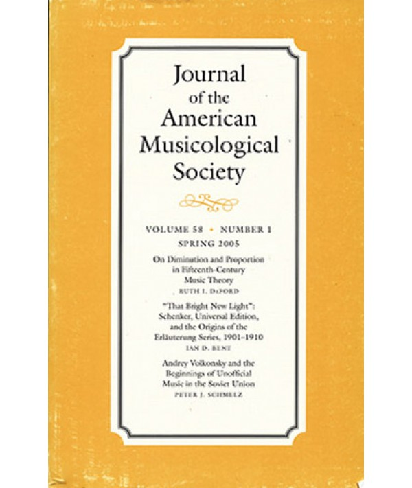 Journal of the American Musicological Society - Philippine