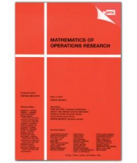 Mathematics of Operations Research