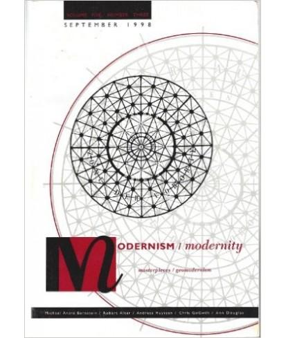 Modernism / Modernity