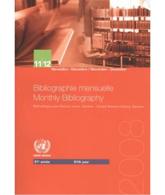Monthly Bibliography