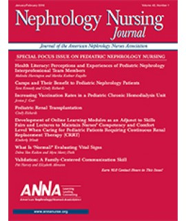 Nephrology Nursing Journal