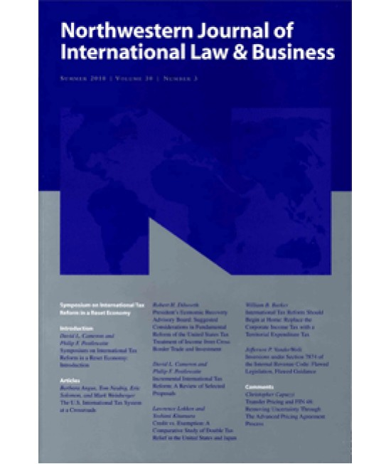 Northwestern Journal of International Law and Business