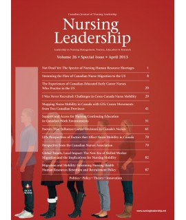 Nursing Leadership (Canadian Journal of Nursing)