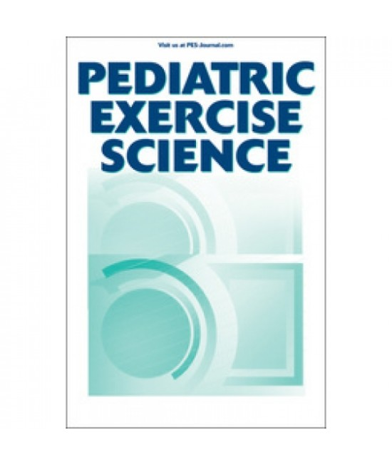 Pediatric Exercise Science