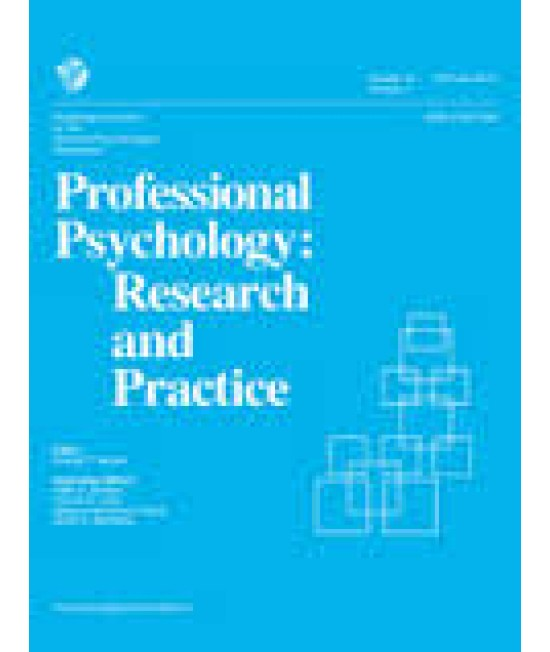 Professional Psychology - Research and Practice