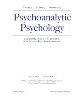 Psychoanalytic Psychology