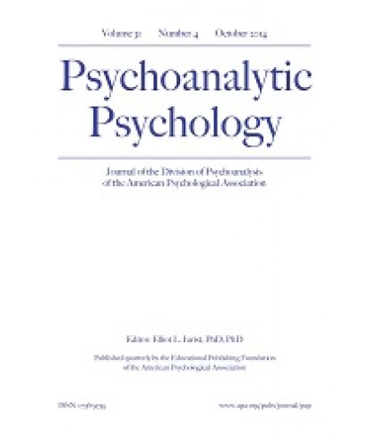 Psychoanalytic Psychology
