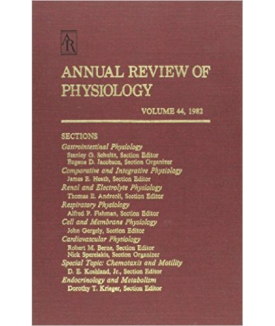 Annual Review of Physiology