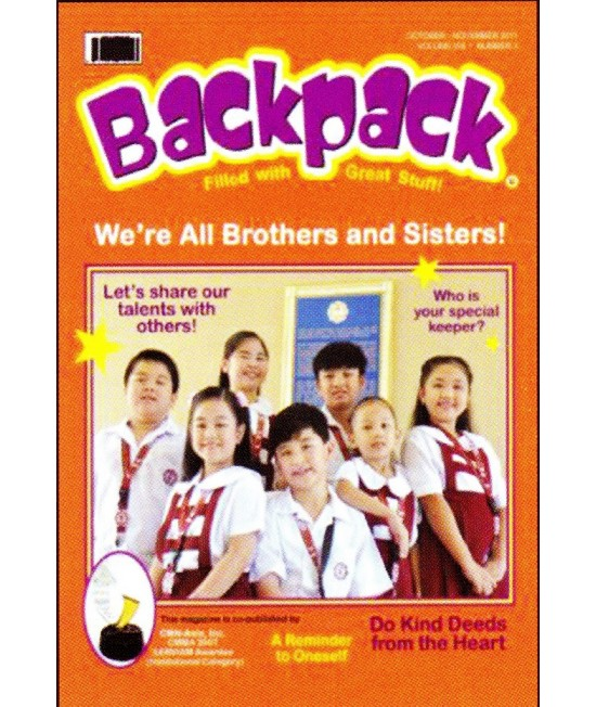 Backpack (Nursery to Grade 3) (Religion)