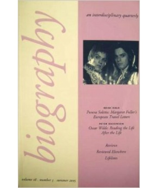 Biography: An interdisciplinary quarterly