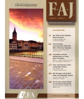 Financial Analysts Journal