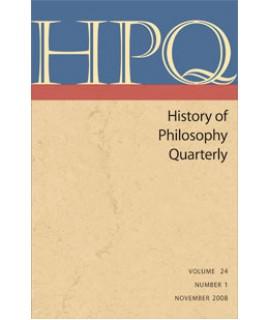History of Philosophy Quarterly