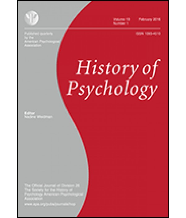 history of psychology term paper