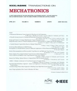 IEEE Transactions on Mechatronics
