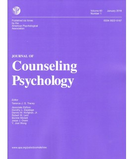 Journal of Counseling Psychology