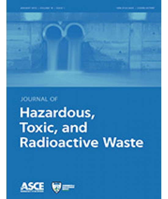 Journal of Hazardous, Toxic and Radioactive Waste