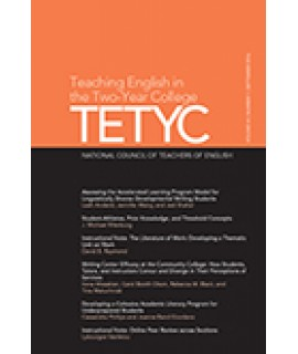 Teaching English in the Two Year College