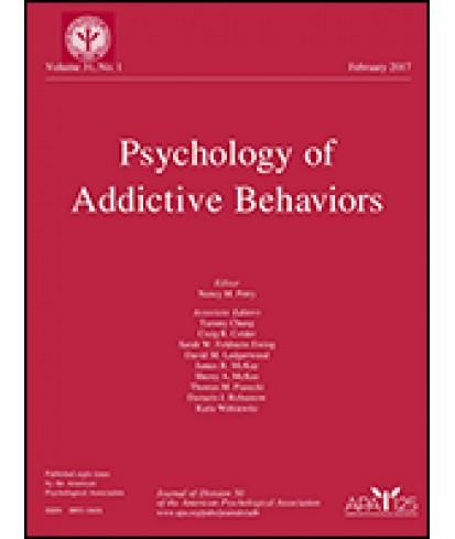 Psychology of Addictive Behaviors