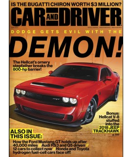 Car and Driver magazine