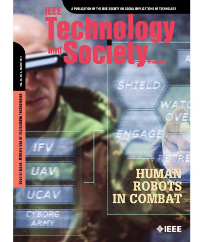 IEEE Technology and Society Magazine