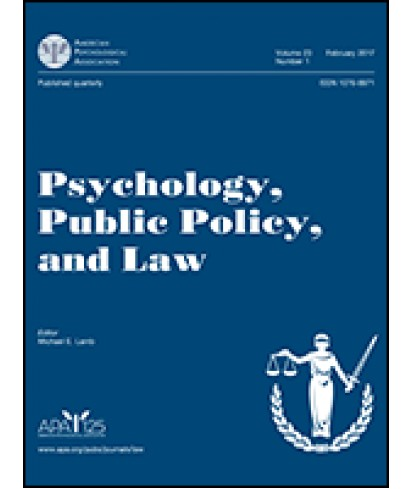 Psychology, Public Policy and Law