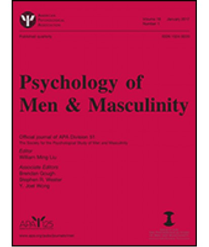 Psychology of Men and Masculinity