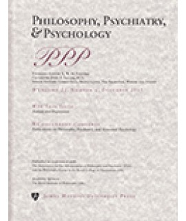 Philosophy, Psychiatry and Psychology
