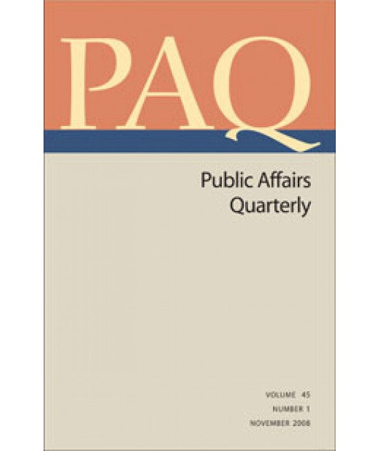 Public Affairs Quarterly