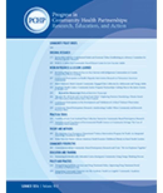 Progress in Community Health Partnerships