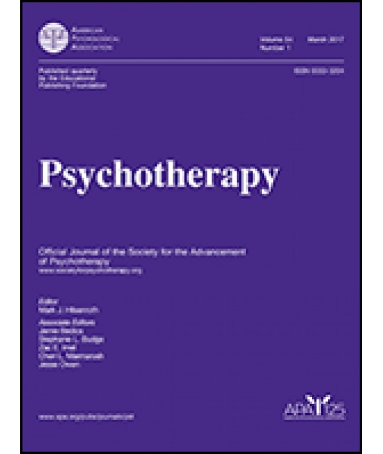 Psychotherapy: Theory, Research, Practice, Training