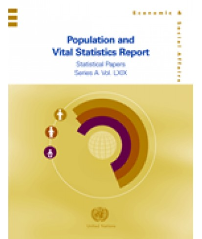 Population and Vital Statistics Report