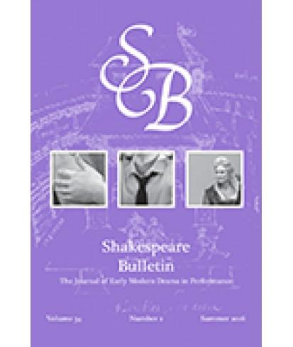 Shakespeare Bulletin