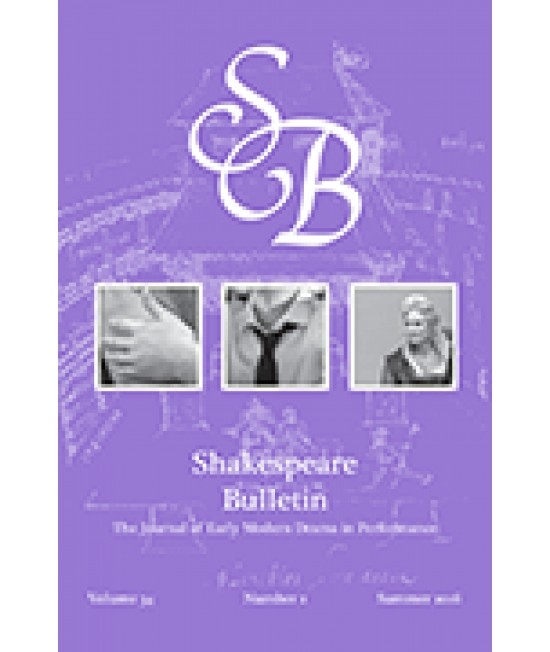 Shakespeare Bulletin