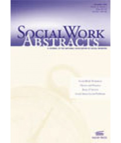 Social Work Abstracts