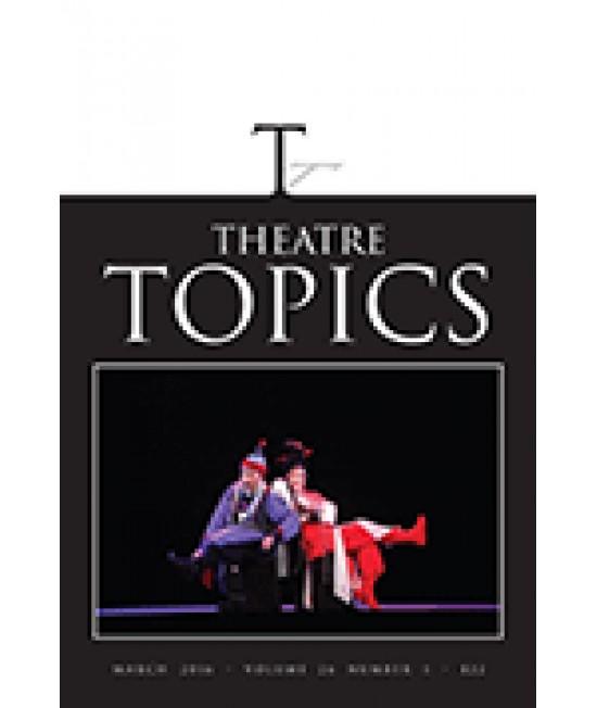 Theatre Topics