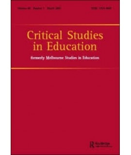 Critical Studies in Education