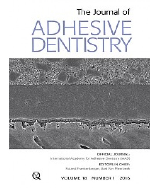 Journal of Adhesive Dentistry