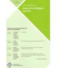 Transaction on Interactive Intelligent System