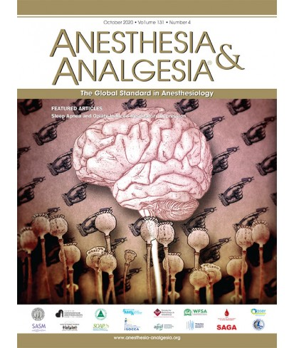Anesthesia and Analgesia