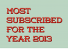 Most Subscribed of 2013
